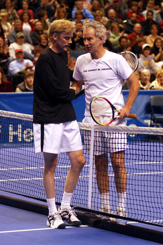 John McEnroe and Bill Przybysz